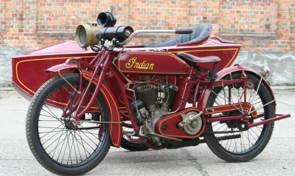 Indian Powerplus 1000cc Combination 1918 -sold-