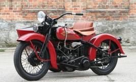 Harley Davidson Model R 750cc Combination 1934