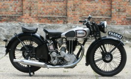 Norton Model 18 500cc OHV 1935 -sold to Japan-