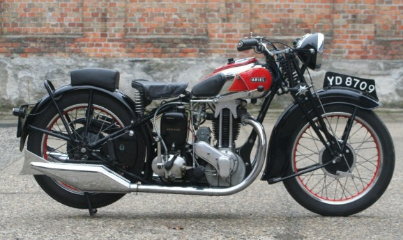 1934 Ariel VG 500cc OHV -sold-