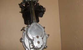 NSU OSL 350 Engine