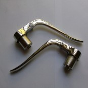 AJS Inverted Clutch and Brake Levers