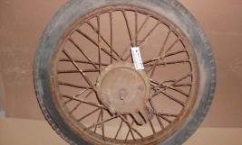 Front wheel 19""