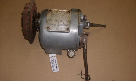 BSA Tree Speed Gearbox with Clutch